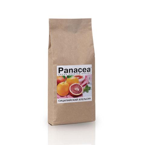 Ароматизированный кофе в зернах Panacea.Сицилийский апельсин