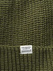 Шапка Alpha Industries Essential Watch Cap Olive (Зеленая)