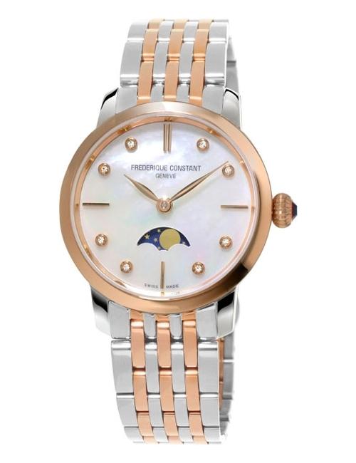 Часы женские Frederique Constant FC-206MPWD1S2B Slimline Ladies