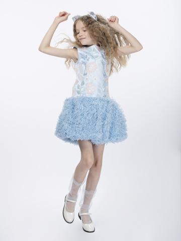 Нарядное платье для девочки  (арт.29016)