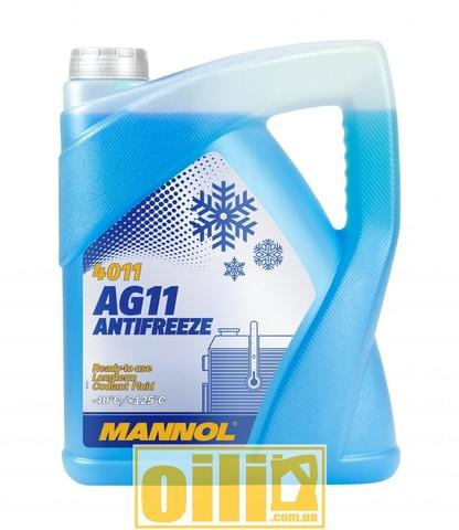 Mannol 4011 Antifreeze AG11 -40°C Longterm 5л