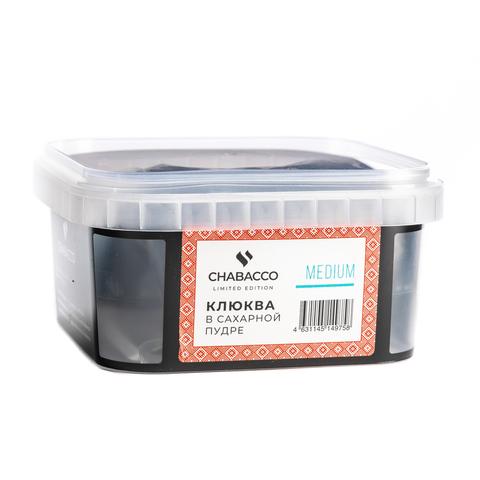 Чайная смесь Chabacco Medium Cranberries In Powdered Sugar (Клюква в Сахарной Пудре) 200 г