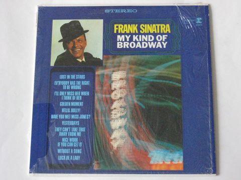 Frank Sinatra / My Kind Of Broadway (LP)