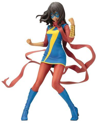 Marvel Ms Marvel Kamala Khan Bishoujo Statue || Статуя Мисс Марвел