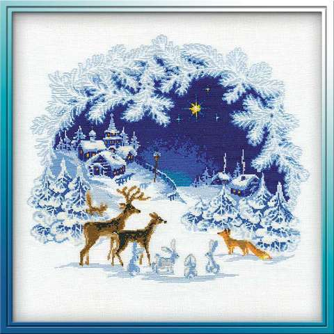 Набор для вышивания крестом «Рождество» (793)