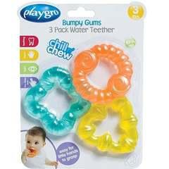 Playgro 3-lü oyuncaq, sulu 3-24 ay