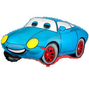 Фольгированный шар Тачка голубая 51см X 80см