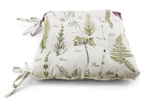 Подушка на стул Ботаник