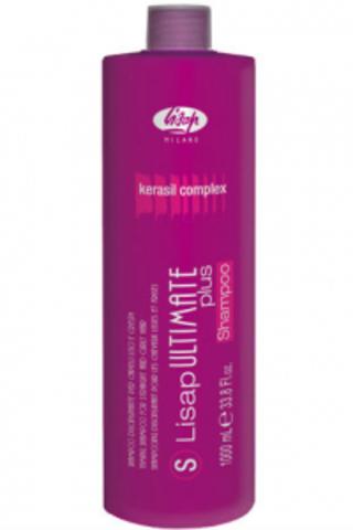 Шампунь с разглаживающим действием для гладких и вьющихся волос «S-LISAP Ultimate Plus Taming Shampoo For Straight and Curly Hair»