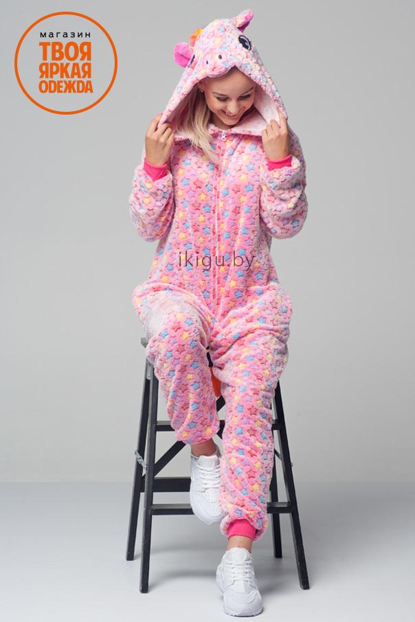 Пижамы кигуруми Единорог Pink Star pinkstar.jpg