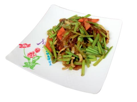 9-6Сельдерей с крахмальной лапшой芹菜粉 400гр
