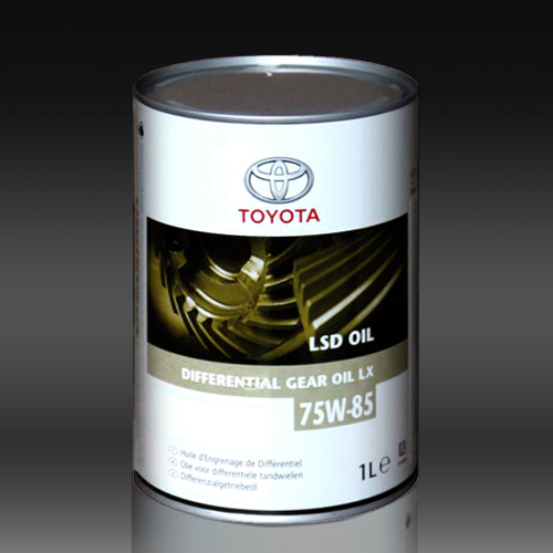 Toyota LSD LX 75W-85- Трансмиссионное масло для МКПП.