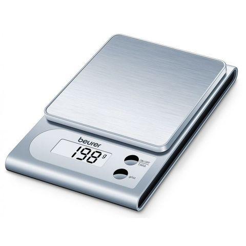 Весы кухонные электронные Beurer (B-KS22) макс.вес:3кг серебристый
