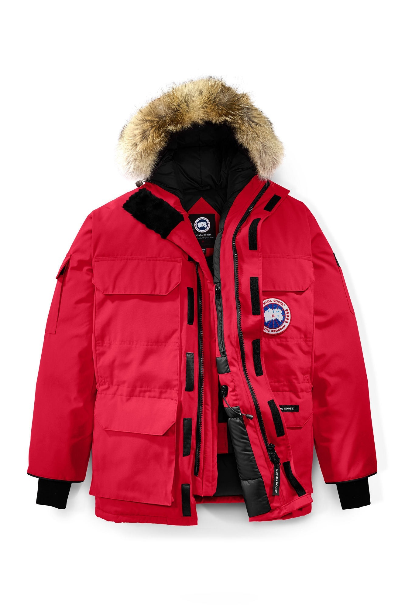 EXPEDITION PARKA MEN'S RED 4567