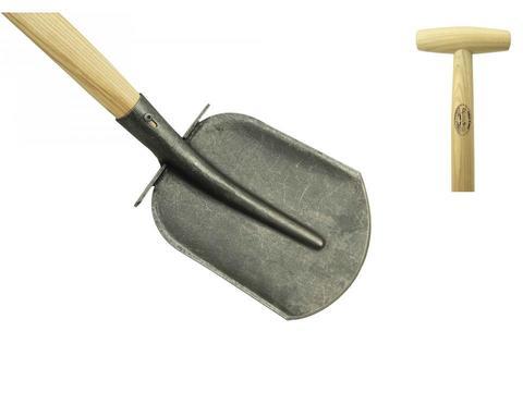 Широкая совковая лопата DeWit 1100мм