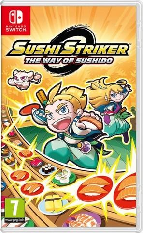 Sushi Striker: The Way of Sushido (Nintendo Switch, английская версия)