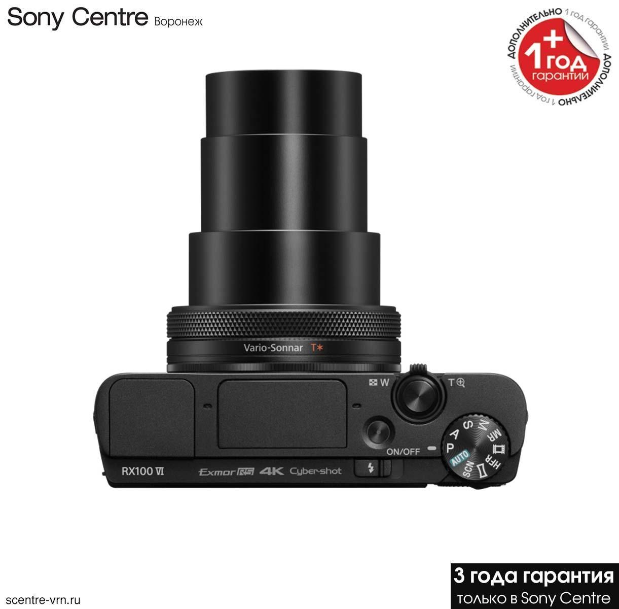 Фотоаппарат Sony DSC-RX100M6 купить у официального дилера