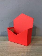 Конверт трапеция, Красный, 19,5 х 23 х 8 см, 1 шт.