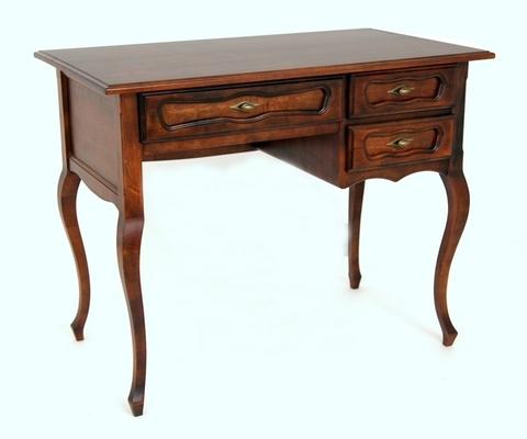 Письменный стол 22 деревянный орех