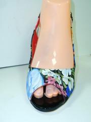 Женские босоножки босоножки на шпильке. Текстильные босоножки с открытой пяткой и носком Welfare.