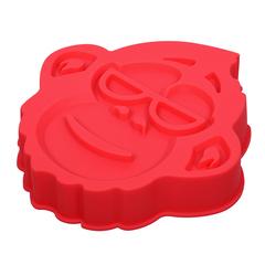 Форма для выпечки из силикона «Мартышка» 21х22,5х4 см