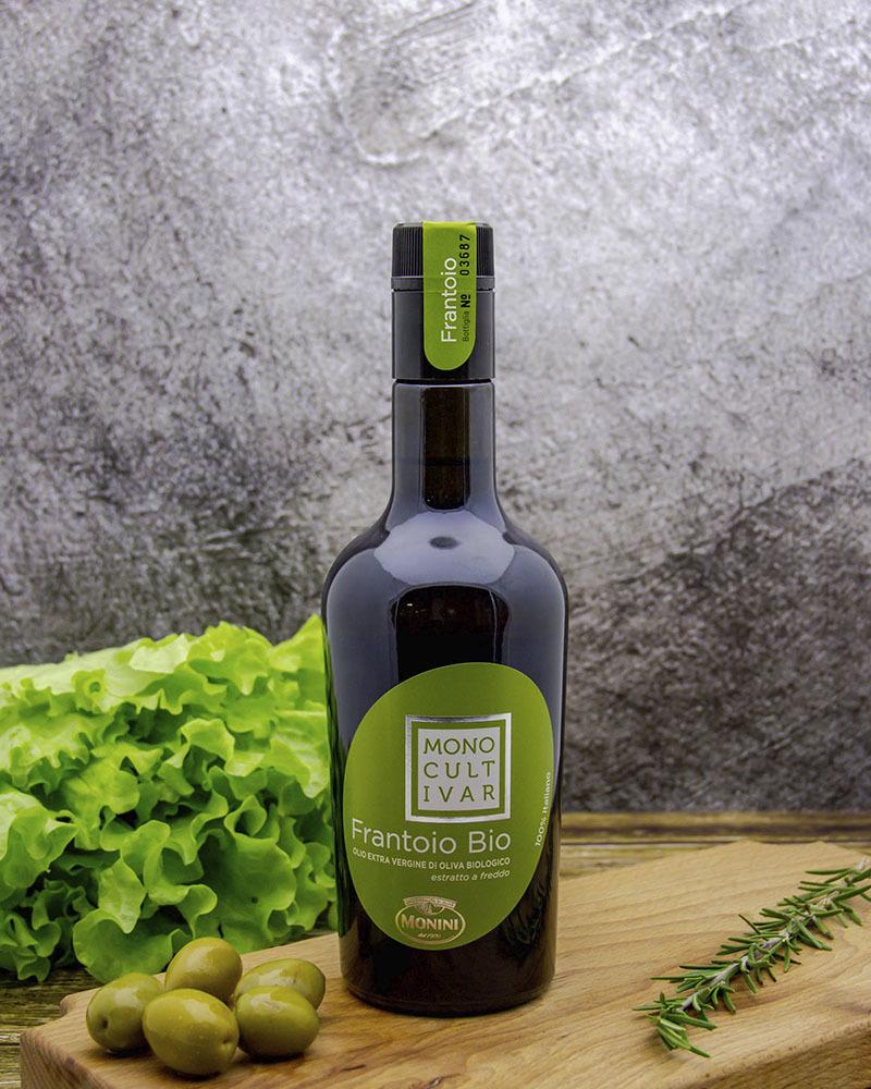 Масло оливковое Monini Нерафинированное Органическое 0,5 л.