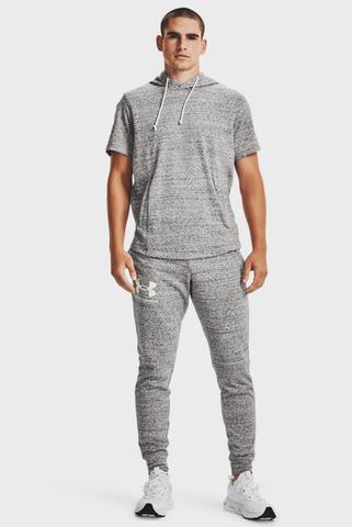 Мужские серые спортивные брюки UA RIVAL TERRY JOGGER Under Armour