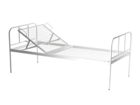 Кровать общебольничная с регулируемым подголовником МСК - 125 - фото