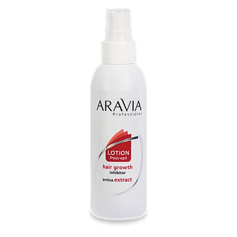 Для замедления роста волос ARAVIA Professional, Лосьон для замедления роста волос с экстр. арники 150 мл aravia-loson-dlya-zamedleniya-rosta-volos-s-ekstraktom-arniki-150-ml.jpg