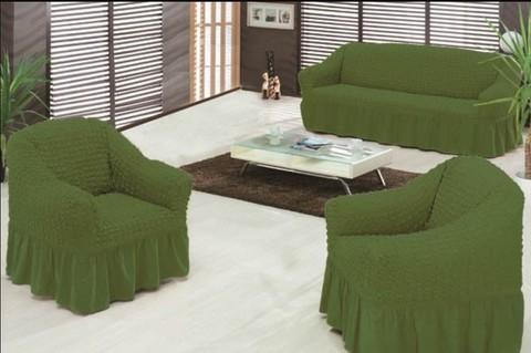 Набор чехлов на трехместный диван и два кресла Lorna