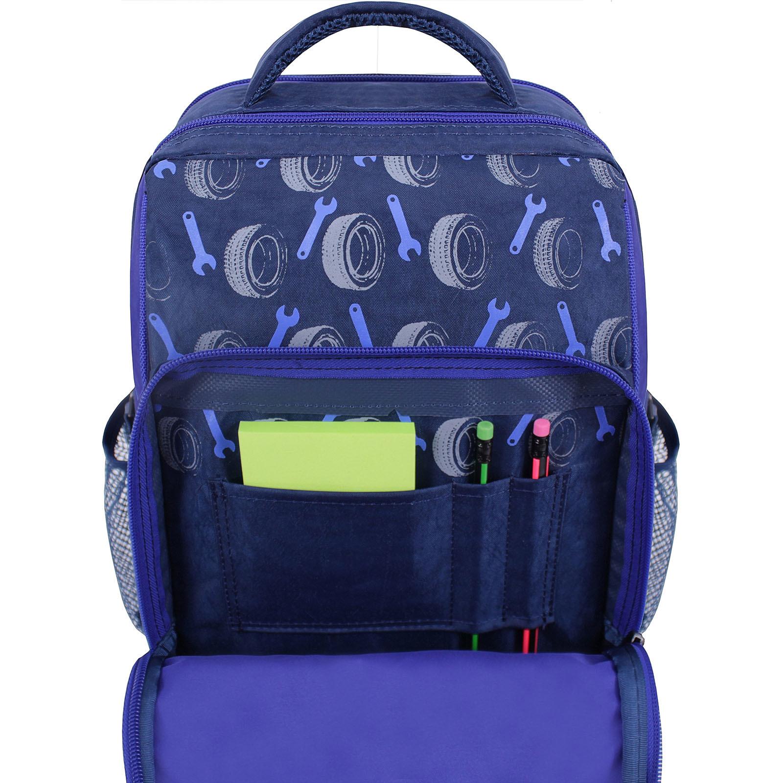 Рюкзак школьный Bagland Школьник 8 л. синий 555 (0012870) фото 4