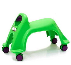Smiley Neon Whirlee Каталка ToyMonster, цвет зеленый (RO-SNW-GP)