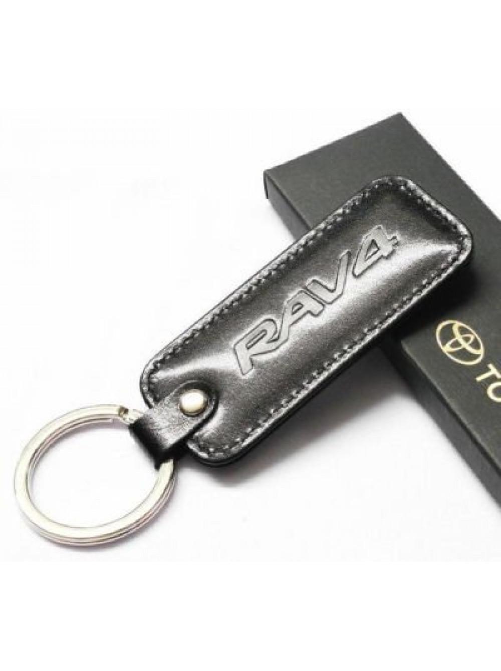 Брелок кожаный Toyota RAV4