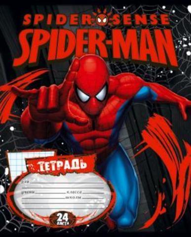 Dəftər Spider Man dama 24 vərəq А5