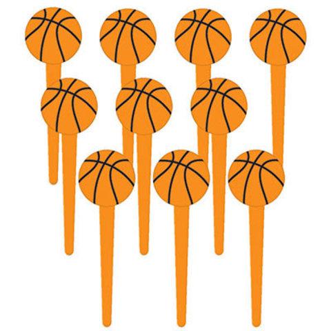 Пики для канапе Баскетбол, 36 штук