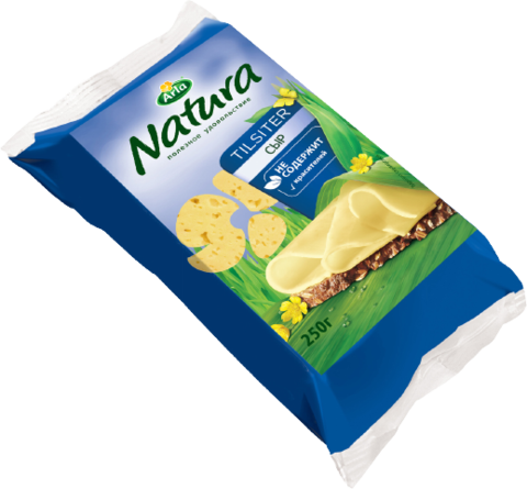 Сыр ARLA Natura Тильзитер 45% 250 г РОССИЯ