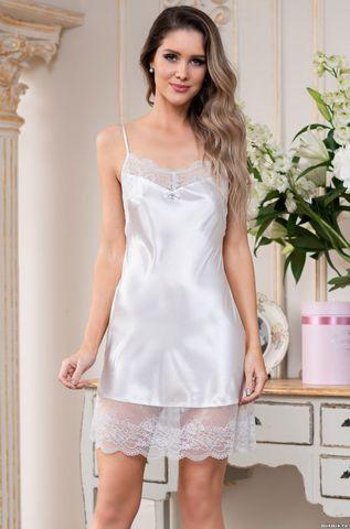 Короткая атласная ночная сорочка Mia Amore Christina