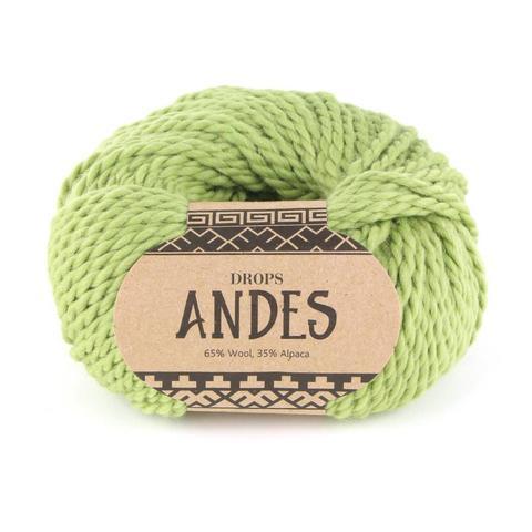 Пряжа Drops Andes 7320 фисташка