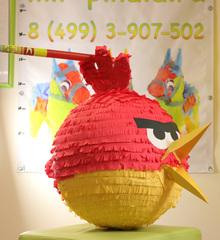 Пиньята Красная птица