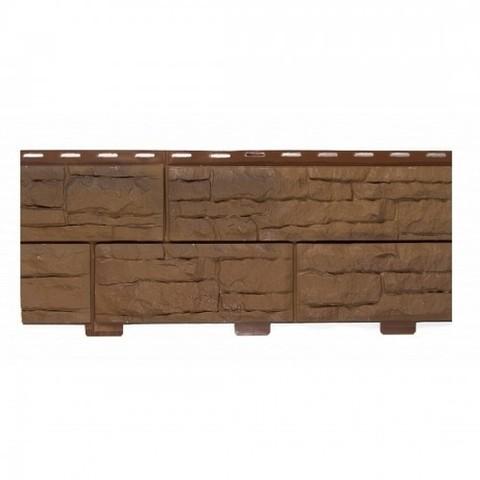 Фасадные панели (Цокольный Сайдинг) Доломит Скалистый Риф Премиум Сафари