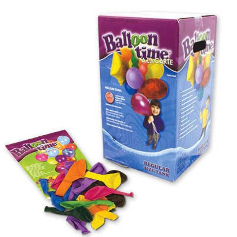 Гелий в баллоне 5 литров + 50 шариков + лента