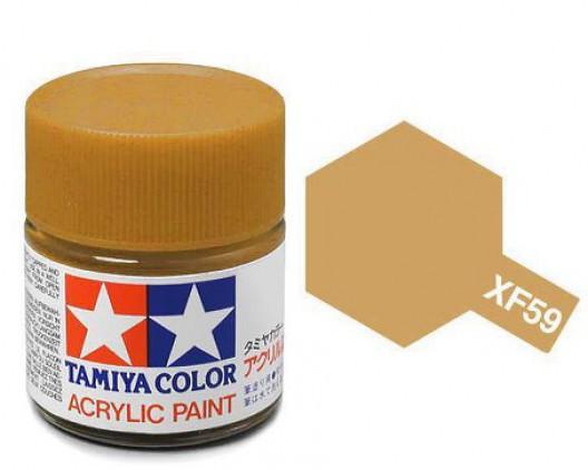 Tamiya Акрил XF-59 Краска Tamiya, Пустынно-желтый Матовый (Desert Yellow), акрил 10мл import_files_02_02759cd95aac11e4bc9550465d8a474f_95b3155c5b6211e4b26b002643f9dbb0.jpg