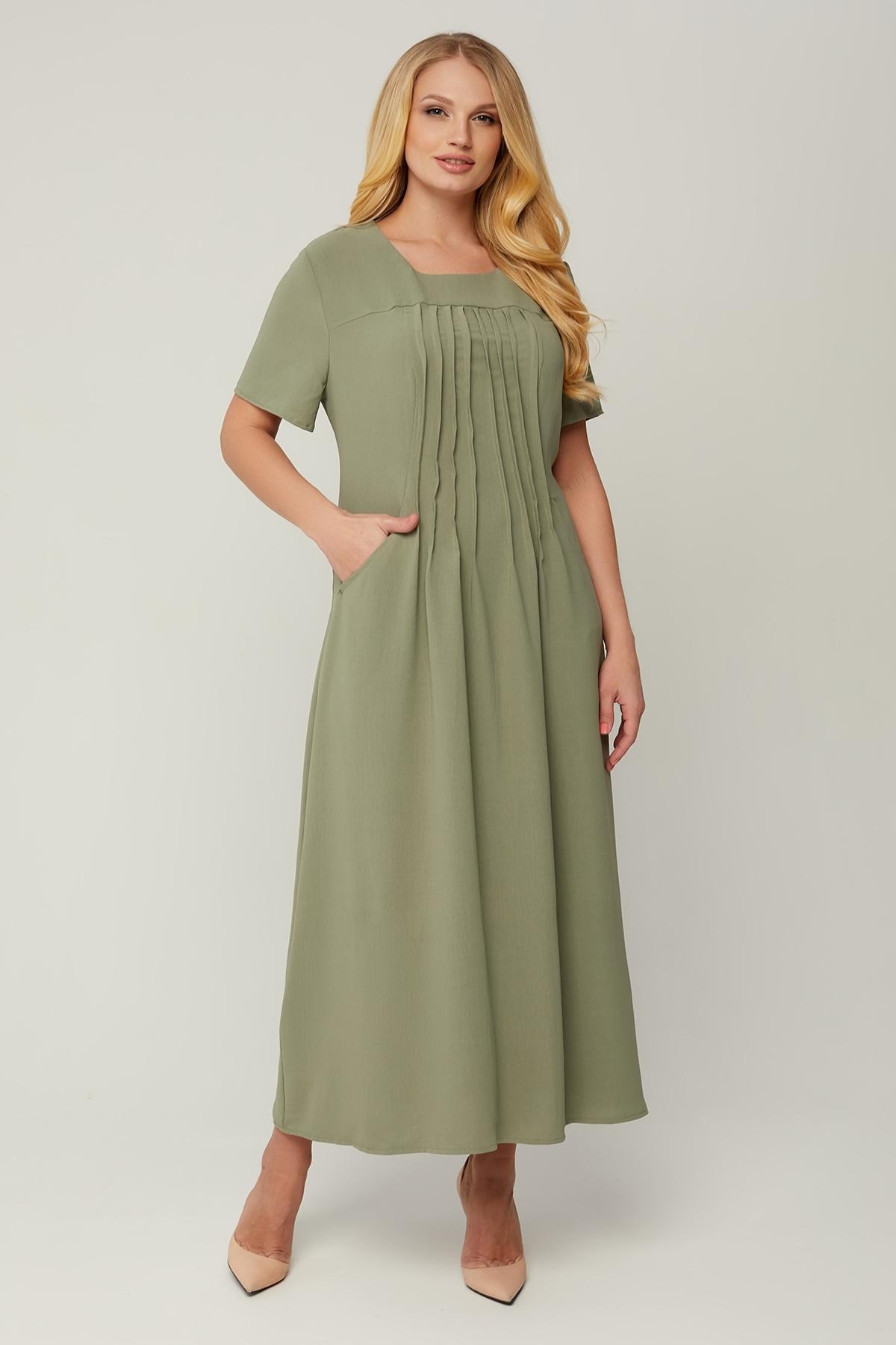 Сукня Селія (оливка)
