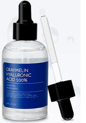 Ампульная сыворотка с гиалуроновой кислотой Graymelin Hyaluronic Acid 100%