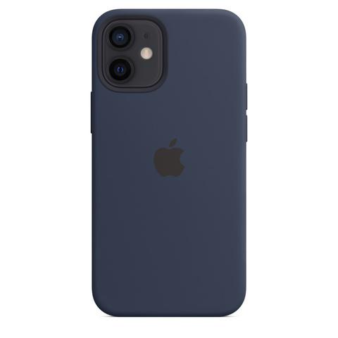 Apple Silicone Case на iPhone 12 Mini (Темный ультрамарин)