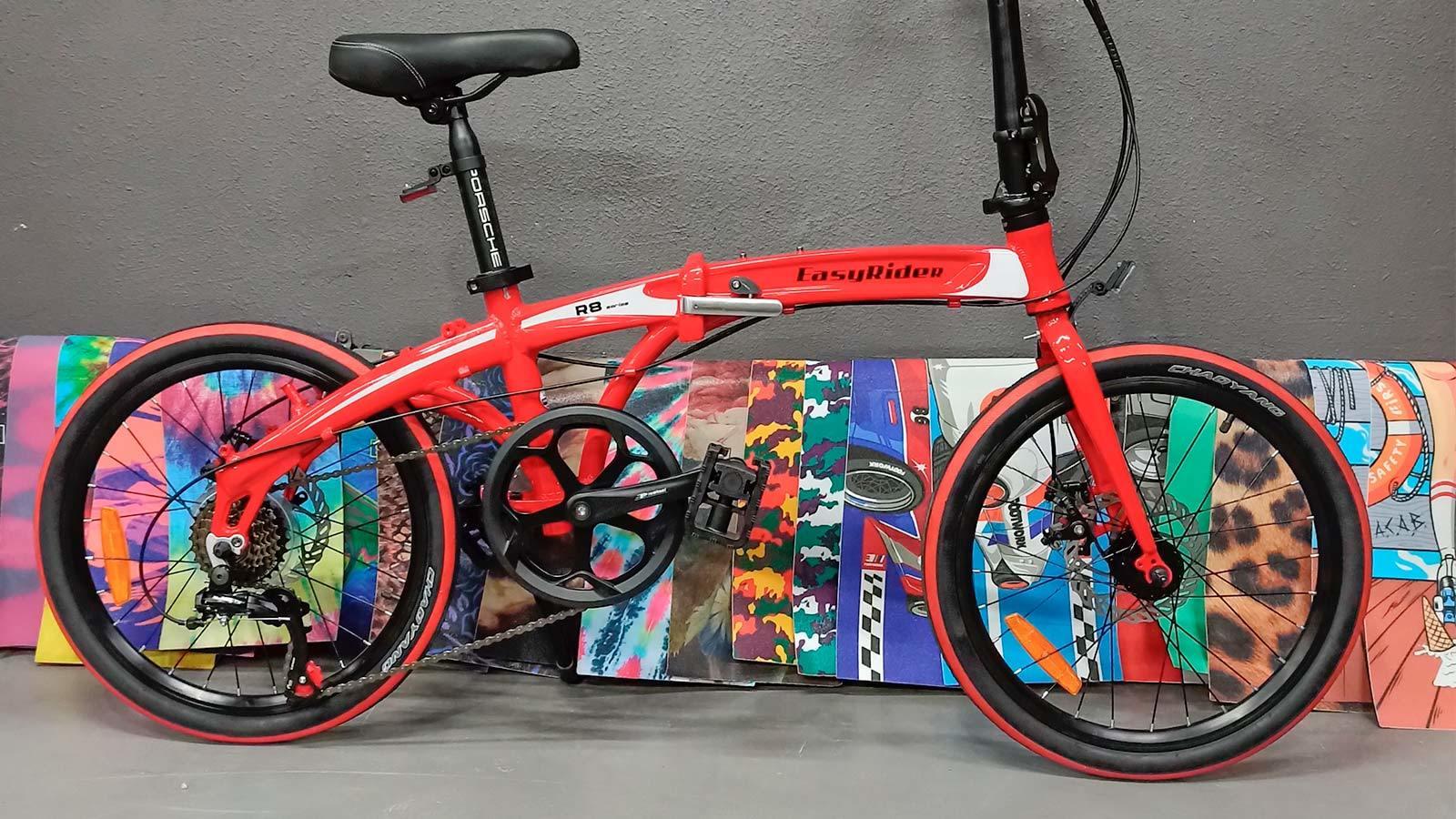 алюминиевый складной велосипед