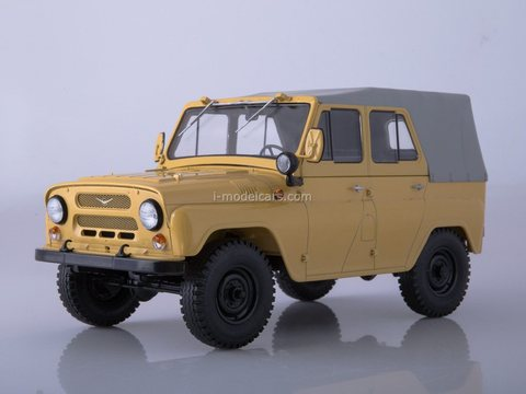 UAZ-469 beige 1:18 Start Scale Models (SSM)