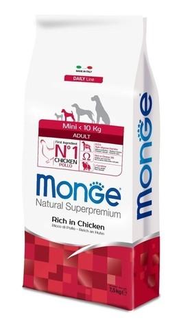 купить Monge Dog Mini сухой корм для взрослых собак мелких пород
