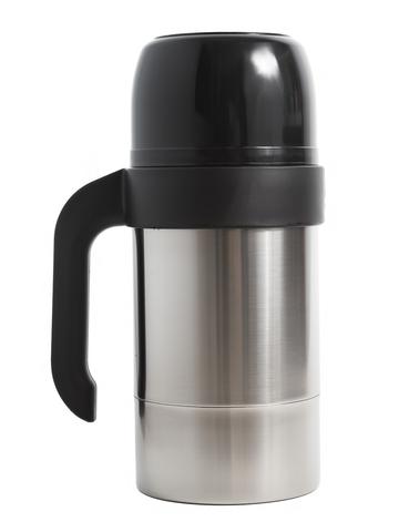 Термос для еды Амет КS Турист-Н (1 литр) с широким горлом, стальной