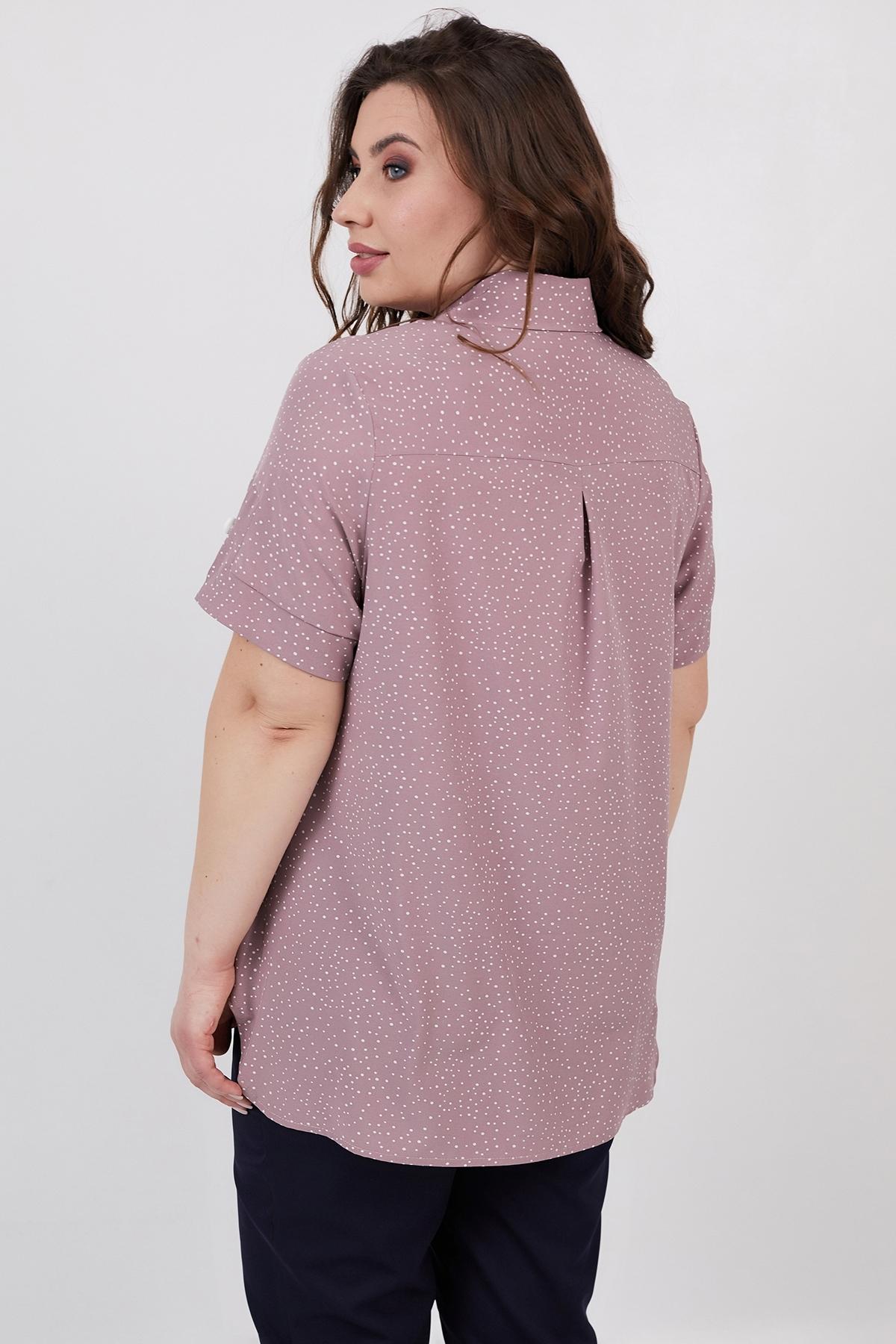 Рубашка Микелли (пудра)